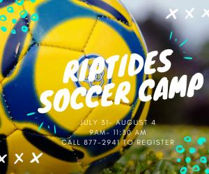 Riptides Soccer Camp